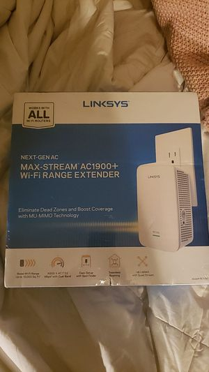 Linksys WiFi Range Extender for Sale in Austin, TX