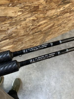 Cousins 803-hg salmon rods for Sale in Vancouver, WA
