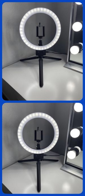 """8"""" Ring Light w/ Stand Angeleye Photo Video Social Lighting 💡🌟 for Sale in Riverside, CA"""