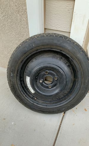 Free spare for 4 lugs 15 inch rim for Sale in Lake Elsinore, CA