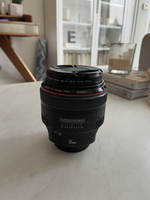 Canon 85mm EF 1.2L II for Sale in Chicago, IL