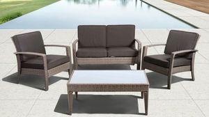 Brand New Patio/ Deck Sofa Set /4pcs- 8 cushions for Sale in Alpharetta, GA