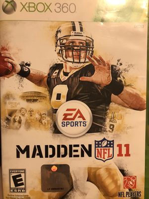Madden NFL 11 (Xbox 360) for Sale in Victoria, TX