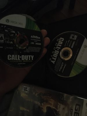 Xbox call of duty ghost/ advance warfare games for Sale in Oakland, CA