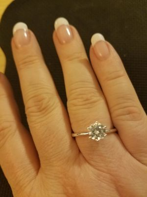 Sterling Silver 6 Prong Solitaire Ring for Sale in Knoxville, TN
