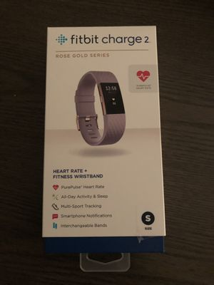 Fitbit charge 2 Rose Gold Series New in box for Sale in Herndon, VA