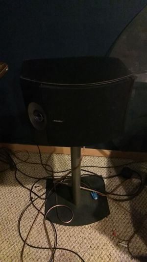 Set 2 Bose speakers 301 with stands for Sale in Maryland Heights, MO