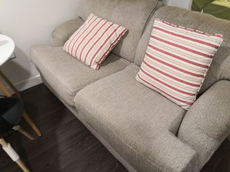 Loveset couch with two pillows for Sale in Denver,  CO