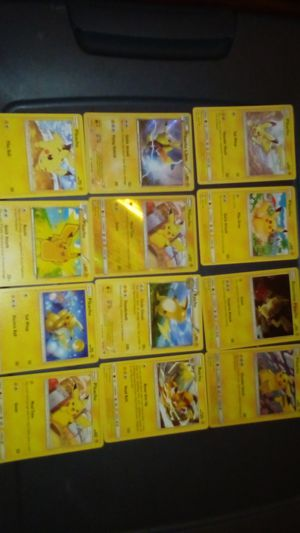 All Pikachu and Raichu Pokemon card for Sale in Tacoma, WA