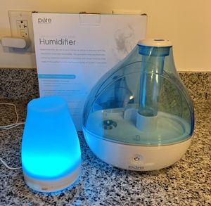 Pure Humidifier, plus a free mini humidifier. Great deal! for Sale in Rockville, MD