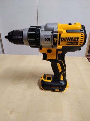 Dewalt XR brushless 1/2in 3 speed hammer drill tool only $90 cash only for Sale in Las Vegas, NV