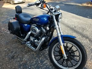 Harley Davidson XL1200L 2009 22500mi New tires Sundowner seat, Saddle bags for Sale in South Brunswick Township, NJ