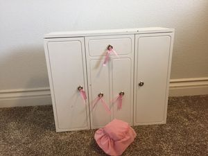 Our Generation Doll Wardrobe fits American Girl for Sale in Moapa, NV