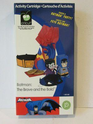 Cricut Batman cartridge for Sale in Sanford, FL