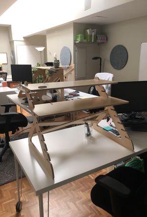 Adjustable standing desk for Sale in San Francisco, CA