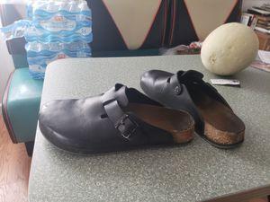 Birkenstock shoes size between 10 1/2 and 12. (Read description) for Sale in Denver, CO