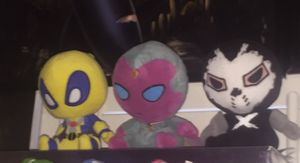 MARVEL PLUSHIES, DEADPOOL AND VISION for Sale in Las Vegas, NV
