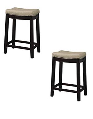 """Set of 2 - 24"""" height counter stool barstools - NEW for Sale in Taylor, MI"""