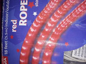 RED ROPE LIGHTS for Sale in Fresno, CA
