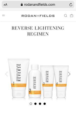 Rodan+Fields Reverse Lightening Regimen for Sale in Columbia, MD