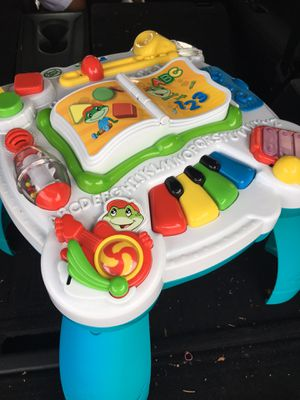 LEARN N GROOVE LEARNING ACTIVITY TABLE BABY TODDLER TOY for Sale in San Antonio, TX