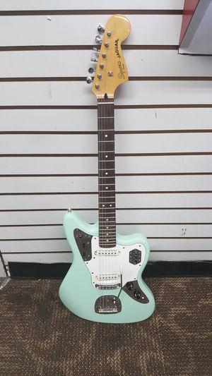 Fender Squier Vintage Modified Jaguar Electric Guitar Surf Green Rosewood Fingerboard for Sale in Baltimore, MD