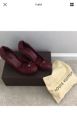 Louis Vuitton Elastic Kitten Heels for Sale in Aspen Hill, MD