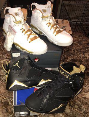 "Jordan ""Golden Moments Pack (6/7)"" SIZE 10 DS for Sale in Ashburn, VA"