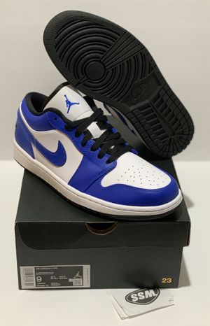DS Jordan 1 Low Game Royal Size 9 - $155 for Sale in East Los Angeles, CA