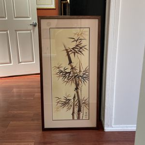 Chinese Style Bamboo Picture Frame for Sale in Orlando, FL