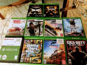 10 games for the xbox one and up price 200 for Sale in Framingham, MA