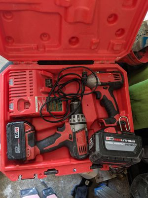Milwaukee drill set for Sale in Columbus, OH