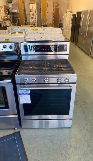Stainless Steel KitchenAid Gas Range. #87 for Sale in Littleton, CO