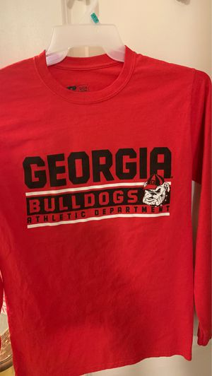 Ladies GEORGIA BULLDOGS LONG SLEEVE COTTON TEE {Size Small} for Sale in Winston-Salem, NC