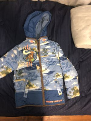 Disney Moana wayfinder boys jacket size 7/8 for Sale in Los Angeles, CA