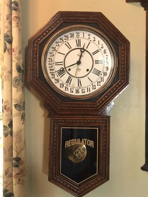 Antique Ansonia wall regulator 1910 for Sale in Spring, TX