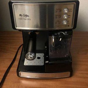 Mr. Coffee Espresso and Cappuccino Maker Café Barista Stainless Steel for Sale in Bellevue, WA