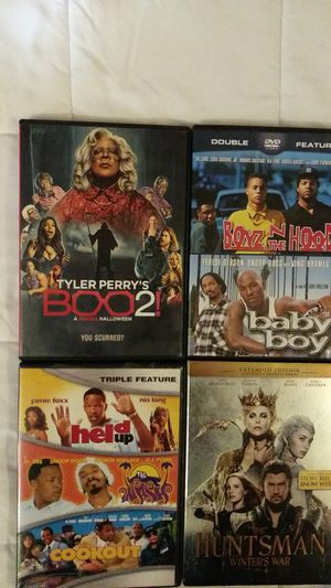 Movies like Tyler Perry's Boo 2 And Boyz in the Hood And The Wash DVDS for Sale in Charleston, WV