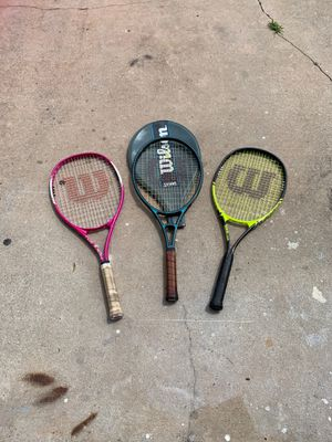 Wilson tennis rackets for Sale in NEW PRT RCHY, FL