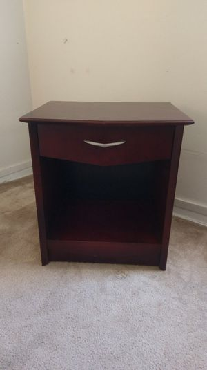 Cherry Red Nightstand for Sale in Chicago, IL