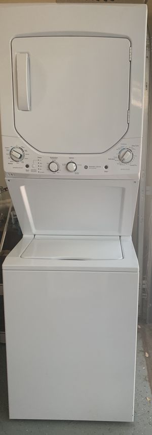 GE Washer Dryer Electric Stackable Like New for Sale in Mount Baldy, CA