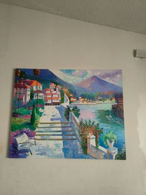 Oil canvas painting for Sale in Orlando, FL