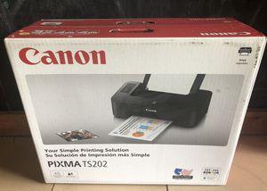 Brand New Canon Pixma TS202 for Sale in Coffeyville, KS