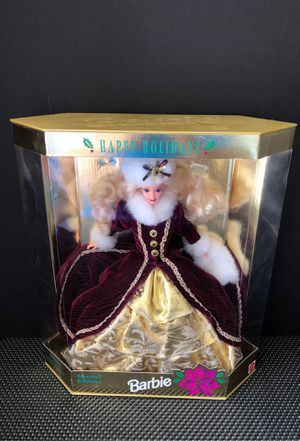 Mattel 15646 Christmas Barbie Happy Holidays 1996 Special Edition for Sale in Suffolk, VA
