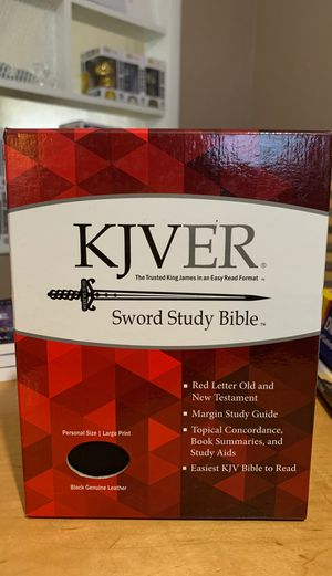 NEW BOOK FROM THE BIBLE (KJVER) for Sale in Fort Worth, TX