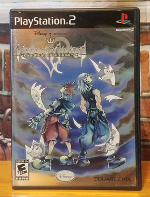 PS2 Kingdom Hearts Re: Chain of Memories Disney Sony PlayStation 2 Game + Bonus for Sale in Lutz, FL