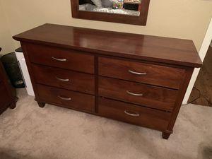 Wood bedroom set for Sale in Peoria, AZ