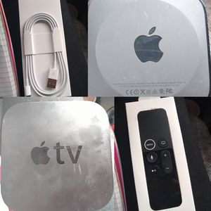 Apple TV 4th gen with remote for Sale in Denver, CO
