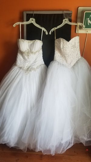 Sweet 16 sweet 15 quinceanera or princess wedding made perfect with these dresses for Sale in Union City, NJ