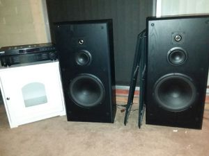 Speakers and a Receiver! for Sale in Mesa, AZ